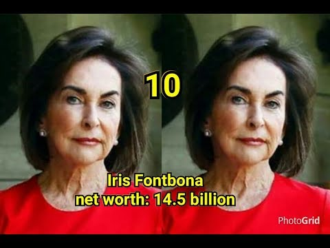 Top 10 richest woman in the world with their net worth latest 2018