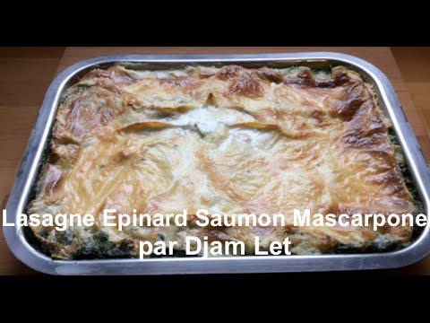 lasagne-épinard-saumon-mascarpone