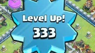 Chegando Level 333 / Level UP 333 - Tche_BR - Clash of Clans