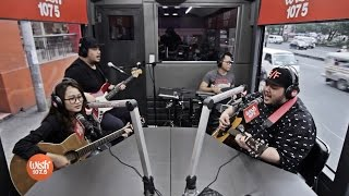 "Mayonnaise performs ""Hopeless"" LIVE on Wish 107.5 Bus"
