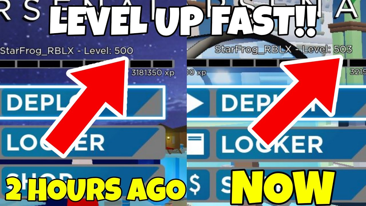 The FASTEST WAY To Level Up In Arsenal..