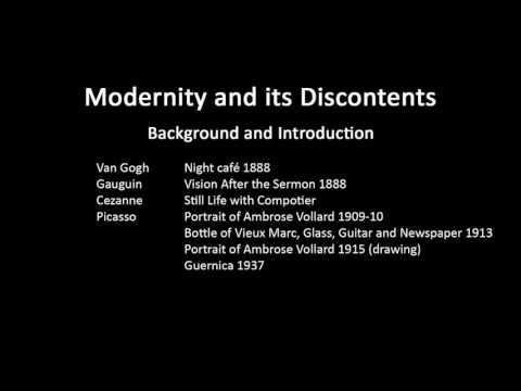 A history of modern art in 73 lectures: lecture 28 (background and introduction)