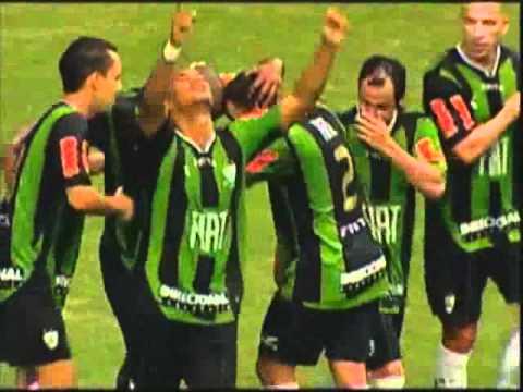 América-MG 3 x 0 Criciúma - Gols - Campeonato Brasileiro Série B 2012 [02/06/12]