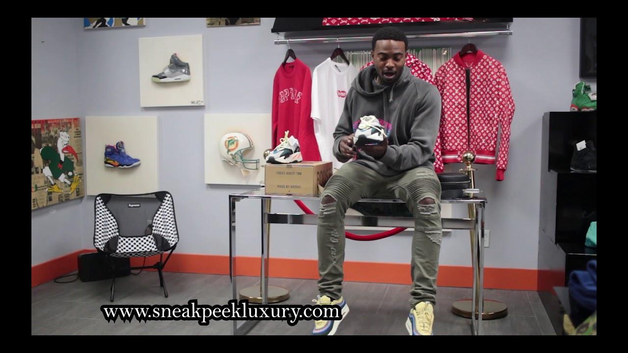 e4e239a2fd0fb Yeezy WaveRunner Review - SNEAK PEEK LUXURY - YouTube