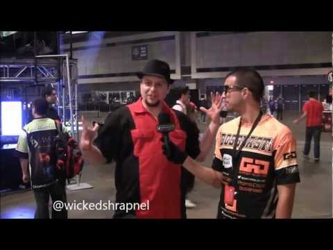 Wickedshrapnel MLG Dallas 2013 Interview By TheBOSSNASTi
