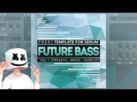 [FREE] Future Bass   Mura Masa, Flume, San Holo - Serum Presets