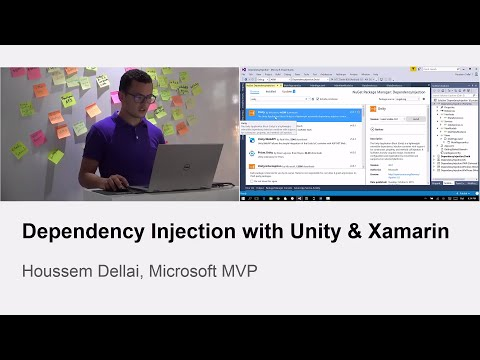 Dependency Injection with Xamarin & Unity