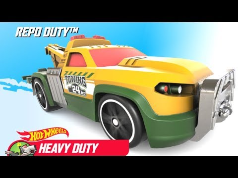 Hot Wheels: Race Off ALL Monster Trucks Rig Heat, OFF-Duty, The Haulinator, Repo Duty and Rig Storm