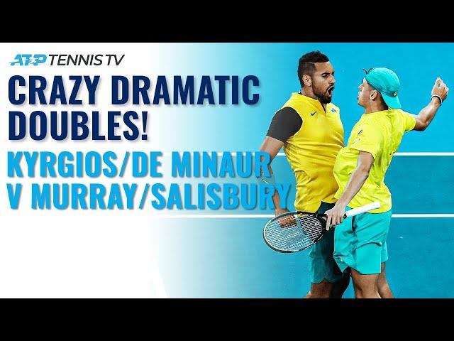 Kyrgios/De Minaur v Murray/Salisbury: Crazy Dramatic ATP Cup Highlights!