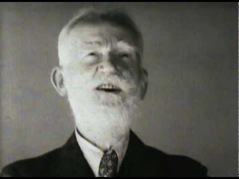 George Bernard Shaw talking about capital punishment