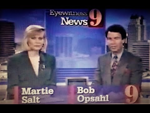 WFTV NEWS-Orlando, FL-May 18, 1993-Martie Salt, Bob Opsahl