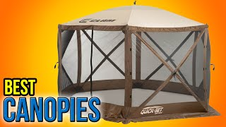 10 best canopies 2016
