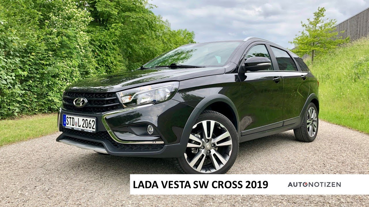 Lada Vesta SW Cross Luxus 2019 Review, Test, Fahrbericht