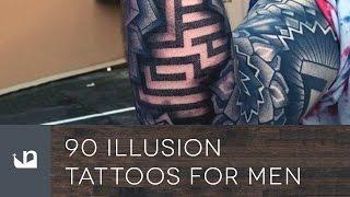 90 Illusion Tattoos For Men