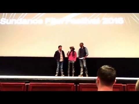 Sundance 2016 - SOUTHSIDE WITH YOU - Post-Film Q-&-A - January 25, 2016 - Rose Wagner - SLC, UT