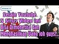 Selain youtube,5 Situs Video Ini bisa Di Monetise dan Mendapatkan uang