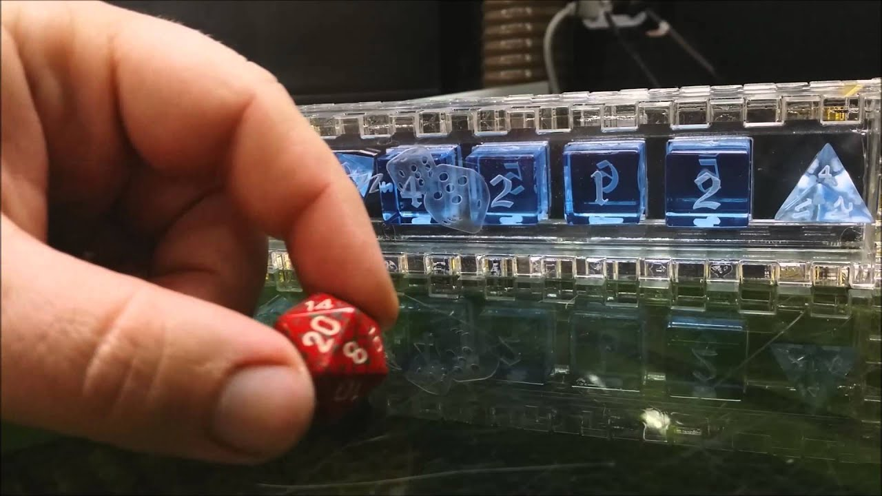 Machined Optically Clear Acrylic Dice