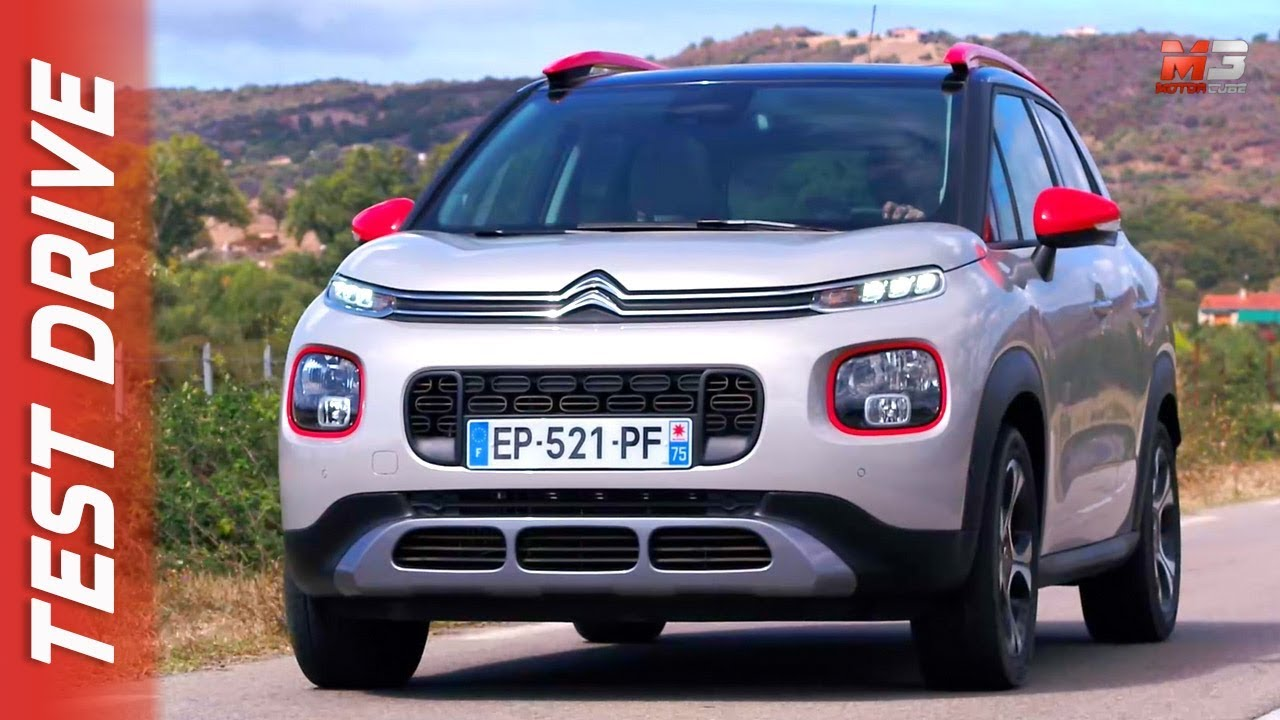 new citroen c3 aircross 2018 first test drive youtube. Black Bedroom Furniture Sets. Home Design Ideas