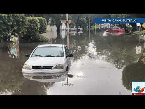 Lluvias torrenciales dejan severas inundaciones en León Guanajuato
