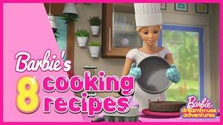 Barbie&#39s 8 recipes!  Twice Baked Potato, Apple Pie, Steak, Chocolate croissant, Meatballs &amp Spag