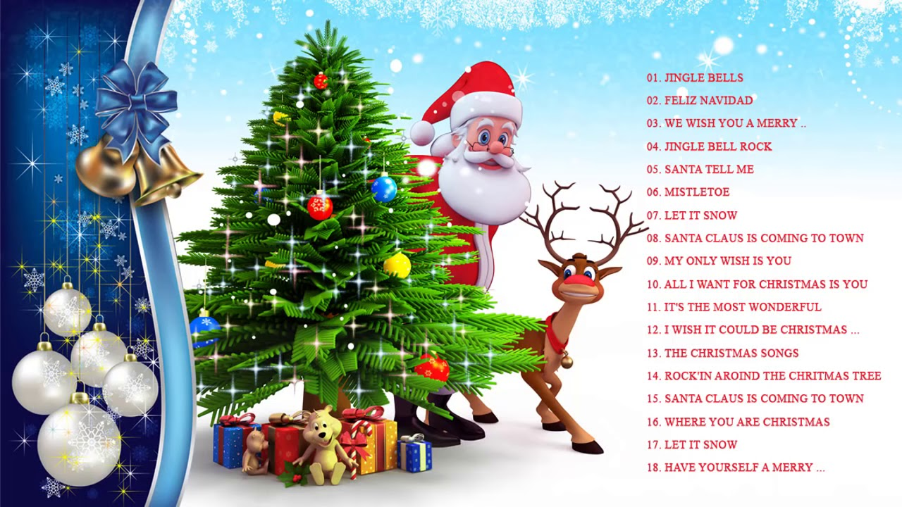 Christmas Non Stop Songs 2019 Top Christmas Songs Playlist