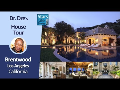 Dr. Dre's Brentwood House Tour | Los Angeles, California | $40 Million