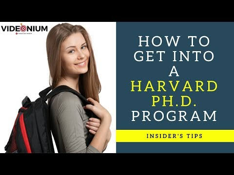 How to get into a Harvard PhD program | Top tips for getting PhD admission offers & full funding