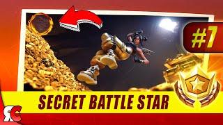 Fortnite - France WEEK 7 Secret Battle Star Location (Saison 8 Battle Star Discovery Loading Screens)
