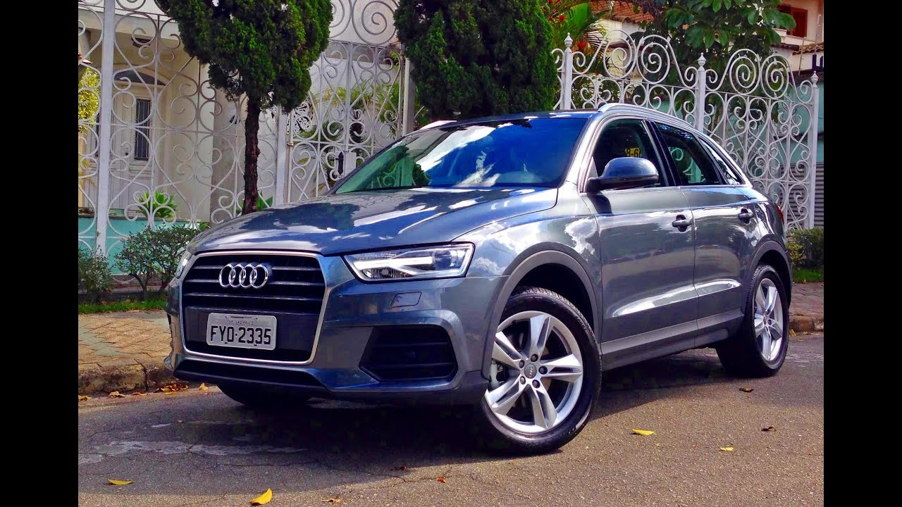 audi q3 2016 teste carsale youtube. Black Bedroom Furniture Sets. Home Design Ideas
