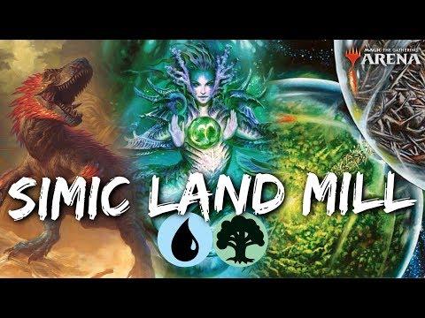 MTG Jeff: Simic Land Mill – Milling in the Jankiest Way