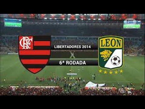 Copa  Libertadores  2014   Flamengo  x   Leon