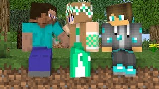 Diamond man life 1- 4  -  Minecraft animations