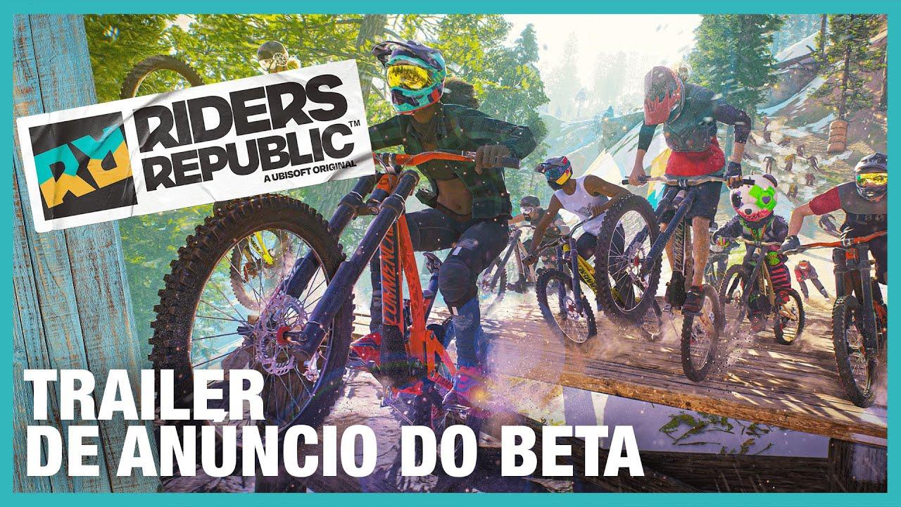 Riders Republic: Trailer de Anúncio do Beta | Ubisoft Brasil