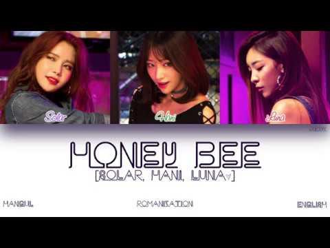 Free Download [han|rom|eng] Luna (루나), Hani (하니), Solar (솔라) - Honey Bee (color Coded Lyrics) Mp3 dan Mp4