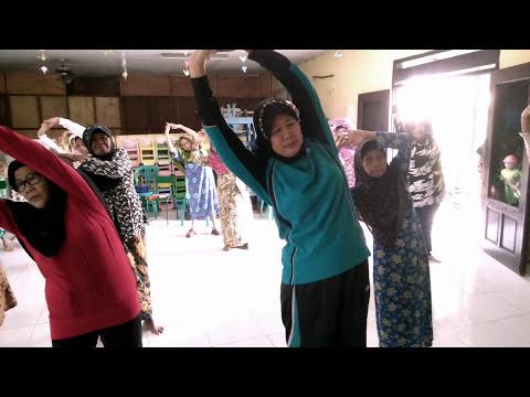 Senam Lansia Manukan Kulon Surabaya