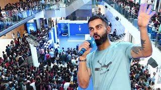 Virat Kohli's CRAZY FANS At Philips New Trimmer Launch | Oberoi Mall Mumabi