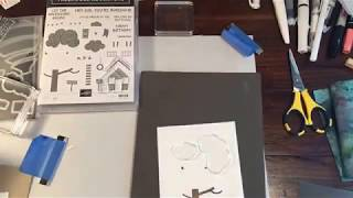 Facebook LIVE replay,Treehouse Adventure card , Stampin' Up!