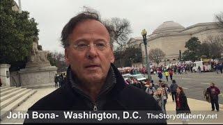 John Bona comments on the Women's March on Washington, D.C.