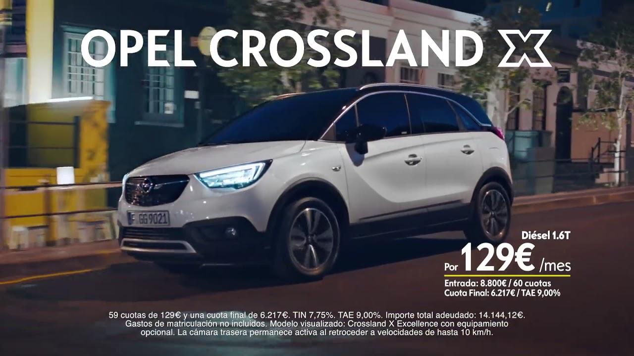 anuncio opel crossland x 2018 - youtube