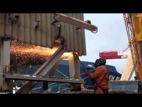 United Metals Demolition Rusal Jetty Limerick