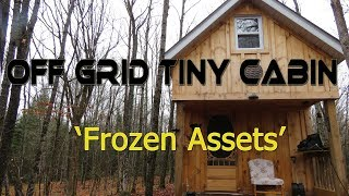 Off Grid Tiny Cabin: