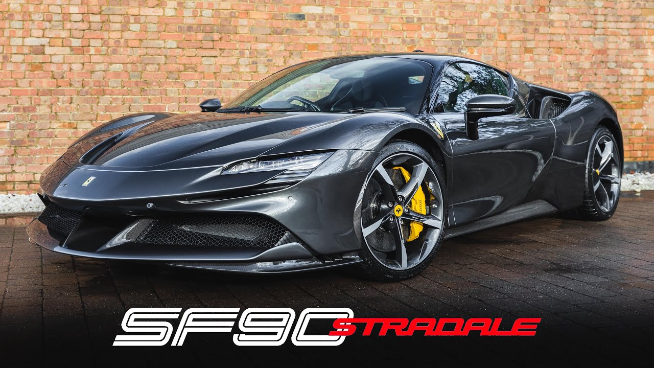 The 1st Ferrari Sf90 Stradale For Sale In The Uk Youtube