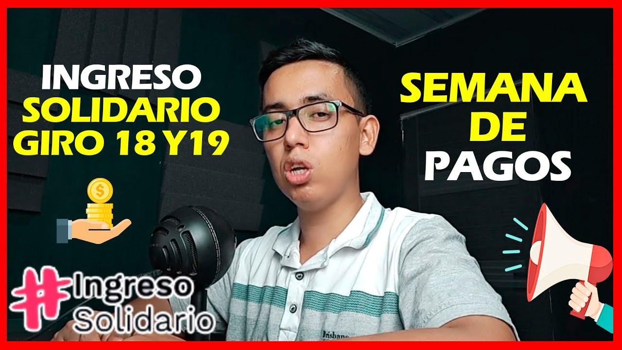 Download Semana de PAGOS Ingreso Solidario Giro 18 y 19   Bancarizados y SuperGIROS   Wintor ABC consultó