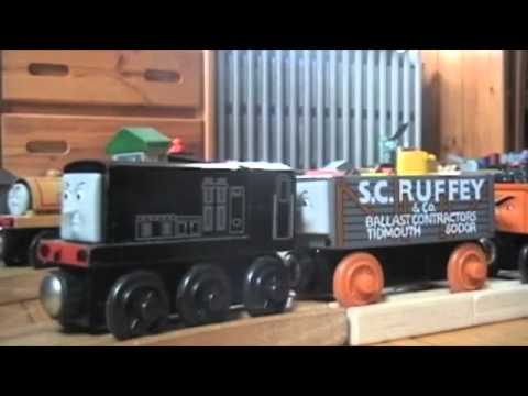 Wooden Railway Thomas Friends Troublesome Trucks Song