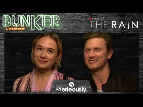 THE RAIN : Mikkel Boe Folsgaard & Alba August, l'interview BUNKER