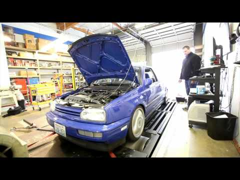 Dyno Video of Kelly Campbell's VR6 Turbo GTI. 397h...
