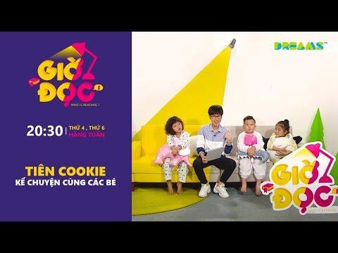 Giờ Đọc | Tập 4: Tiên Cookie kể truyện ngụ ngôn Grimm cho các bé | DreamsTV - 2017