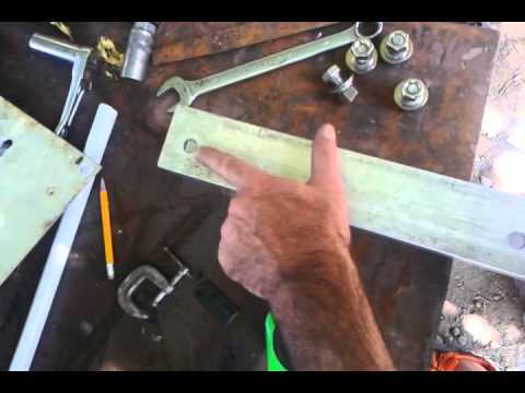Jack Plate For Outboard Motor Part 1 Youtube
