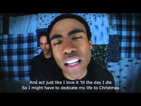 Troy & Abed's Christmas Rap (Subtitles) [Community]