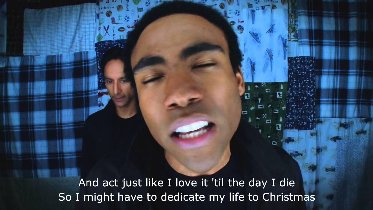 Troy & Abed's Christmas Rap (Subtitles) [Community] - YouTube